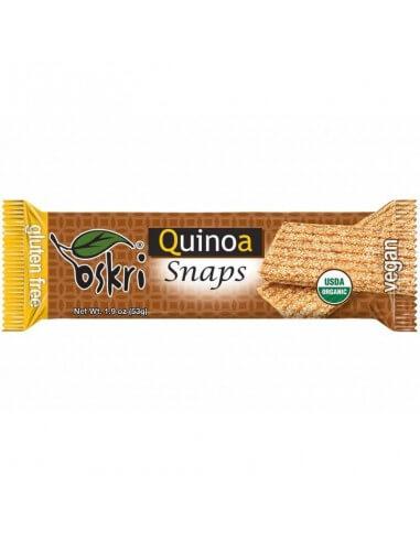Barrita orgánica snaps de quinoa