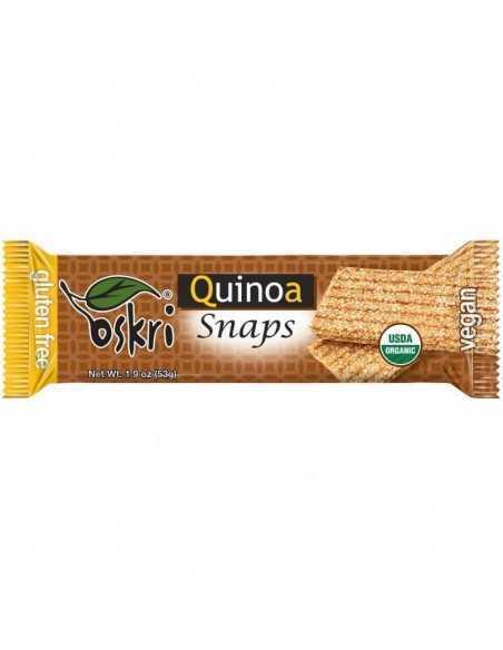 Barrita snaps de quinoa