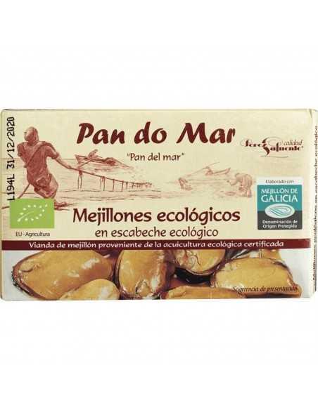 Mejillones en escabeche - Pan do Mar