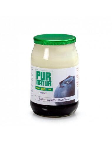 Yogur Bio con arándanos
