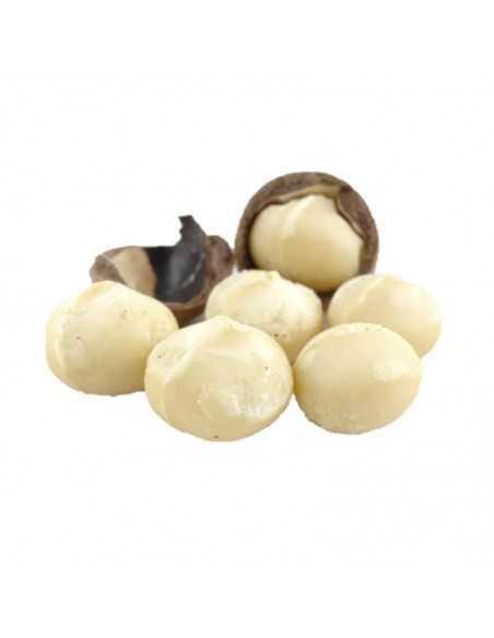 Nuez de macadamia cruda