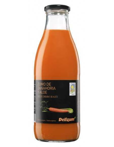 Zumo de zanahoria con aloe vera