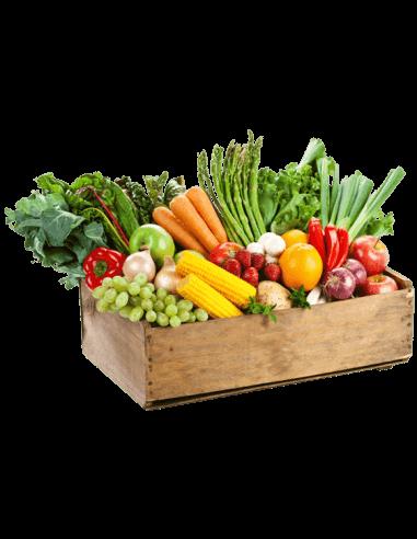 Caja de fruta y verdura ecológica