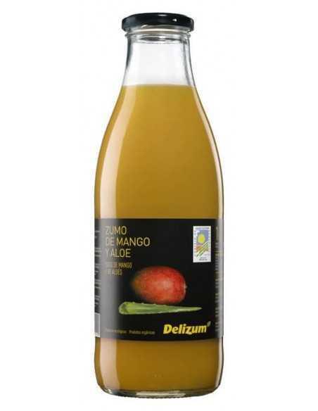 Zumo de mango con aloe vera