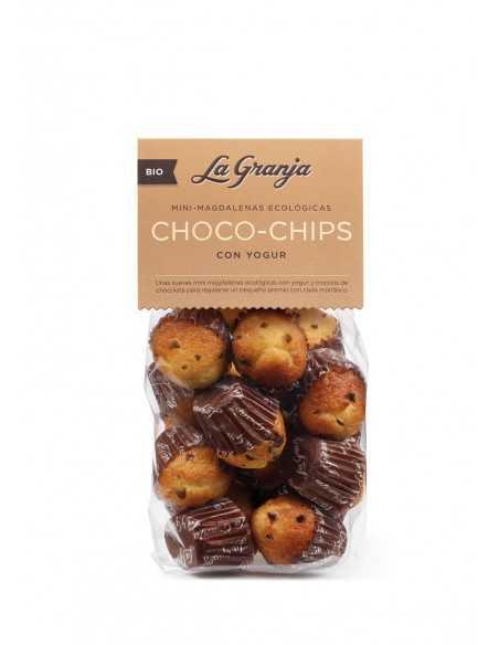 Magdalenas pequeñas Chips Choco yogur - La granja