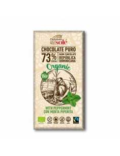 Chocolate Negro 73% Cacao con Menta Piperita - Chocolates solé