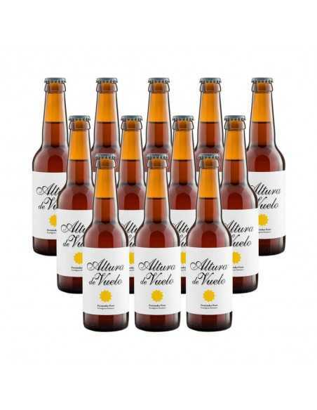 Cerveza rubia ecológica Altura de Vuelo - 12 botellas 33 cl
