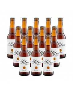 Cerveza rubia ecológica silva