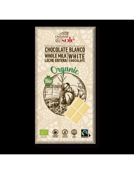 chocolate blanco bio
