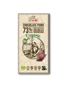 Chocolate negro 73% cacao - Chocolates solé