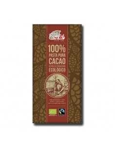 Chocolate negro 100% cacao