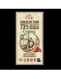 Chocolate negro 73% con almendra - Chocolates solé