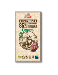 Chocolate negro 86% cacao - Chocolates solé
