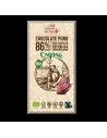 Chocolate negro 86% cacao ecológico
