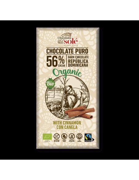 Chocolate negro con canela - Chocolates solé