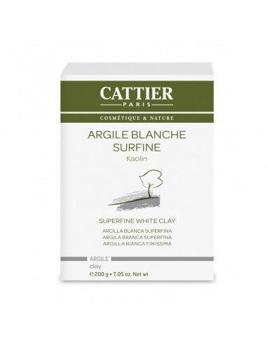 Arcilla blanca superfina BIO 200 g - Cattier