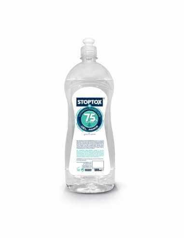 Gel hidroalcohólico 75% alcohol 1L - STOPTOX