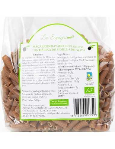 Macarrón BIO con harina de semilla de...