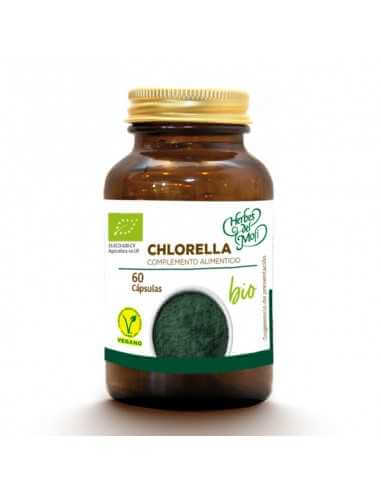 Chlorella BIO - 60 cápsulas - Herbes...