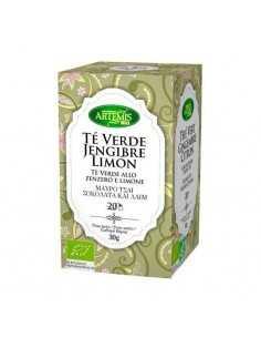 Té Verde Jengibre Limón BIO...