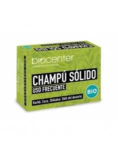 Champú Sólido uso frecuente - Biocenter - envase Sin plástico