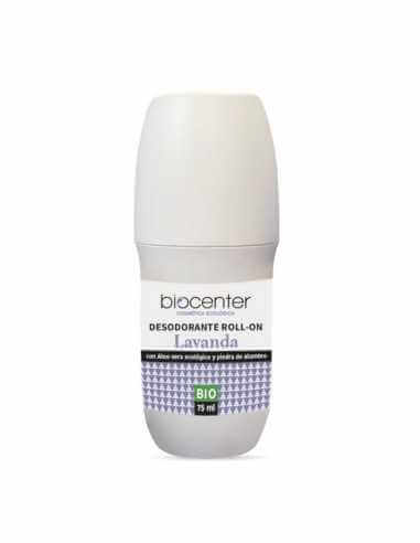 Desodorante ecológico Roll-On - Lavanda - Eco Friendly - Biocenter