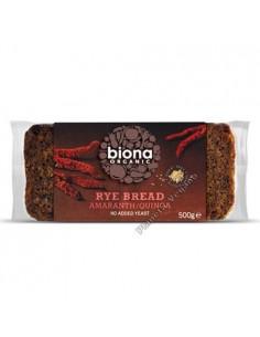 Pan de centeno con amaranto y quinoa