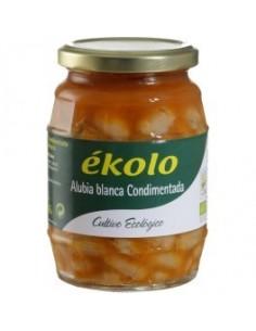 Alubia blanca condimentada - Ékolo