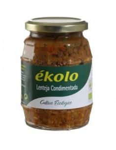 Lentejas condimentadas - 375 g - Ékolo