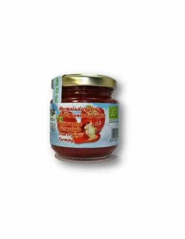 Mermelada ecológica de pimiento con ágave (sin azúcar)