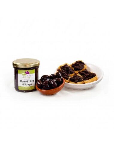 Paté de oliva de aragón ecológico