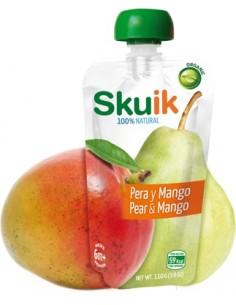 Pera y mango 110 g expositor 6 unds.                         - Skuik