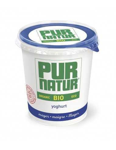 Yogur Natural desnatado ecológico