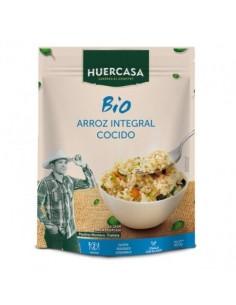 Arroz integral cocido 400g - Huercasa