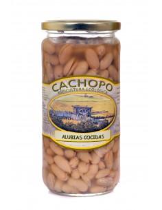 Alubias cocidas ecológicas (envase de 720 cc.) - Cachopo