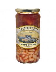 Alubias estofadas - Cachopo