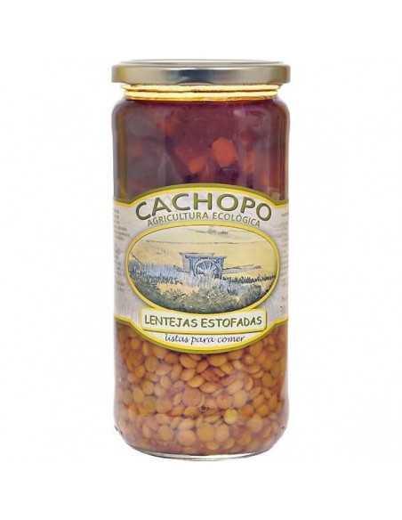 Lentejas estofadas - Cachopo