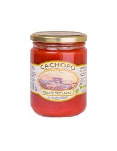 Tomate triturado ecológico (envase de 445 cc.) - Cachopo